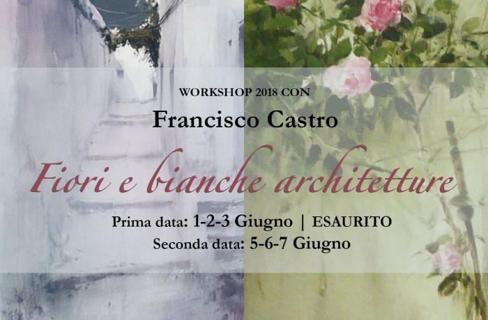 1-2-3/5-6-7 giugno 2018-Francisco Castro