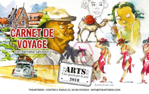 Carnet de Voyage-Barnaba Salvador